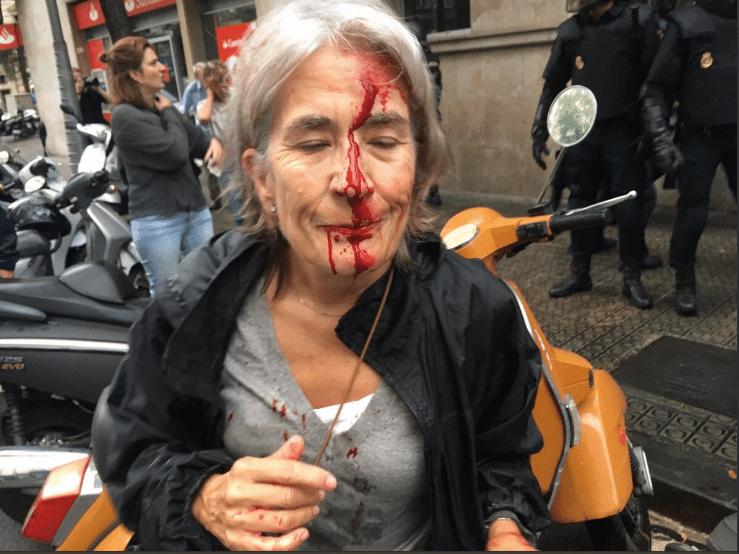 Katalánsko - policejní násilí