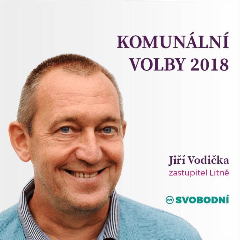 10 otázek pro Svobodné zastupitele: JiříVodička