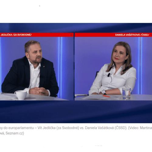"""Seznam zprávy: Vít Jedlička se tvrdě pustil do ČSSD """"S vámi budou Češi v Evropě dál občané druhé kategorie."""""""