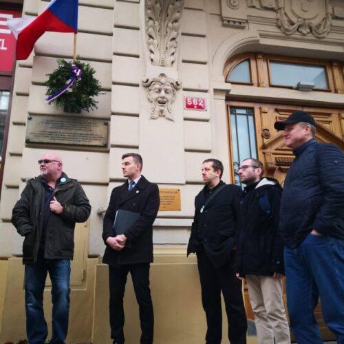Tisková zpráva – Svobodní na připomínce Rašína vyzvali Zaorálka, aby konečně zajistil dodržení zákona