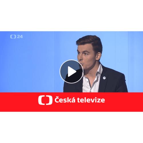 Libor Vondráček řešil zemědělství na ČT24