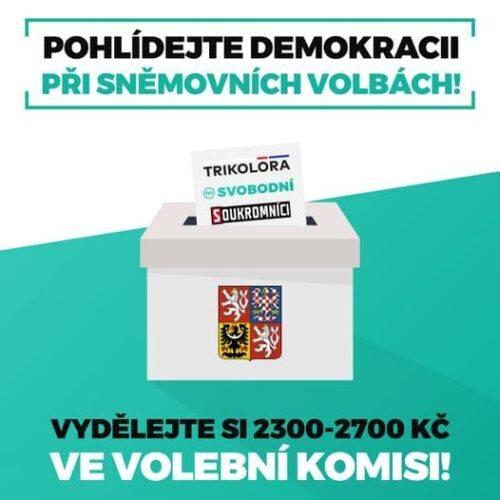 Pohlídejte demokracii při sněmovních volbách!
