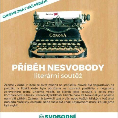 Svobodní vyhlásili literární soutěž