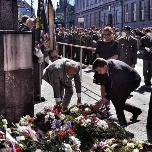 Svobodní si připomněli Den hrdinů druhého odboje.