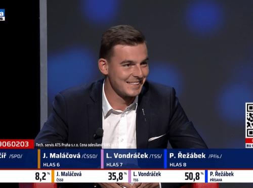 Libor Vondráček při včerejší superdebatě rozmetal Maláčovou!