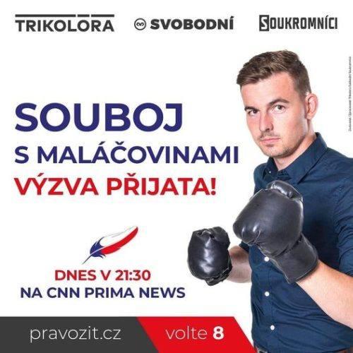 Libor Vondráček dnes bude v superdebatě na CNN Prima NEWS!